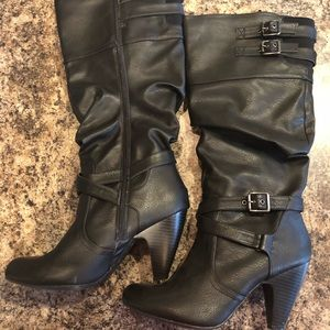 Dolce by mojo moxy Faux Leather Boots, Wide